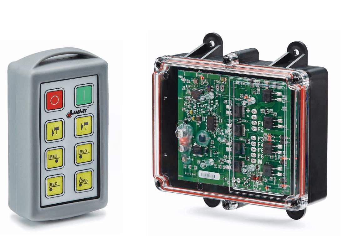 Funkfernsteuerung Standard mit FETS Empfänger