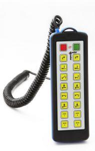 Funkfernsteuerung kabelgebunden 16 Funktionen
