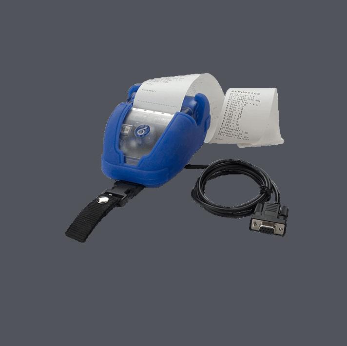 Drucker für Monitor-Tester