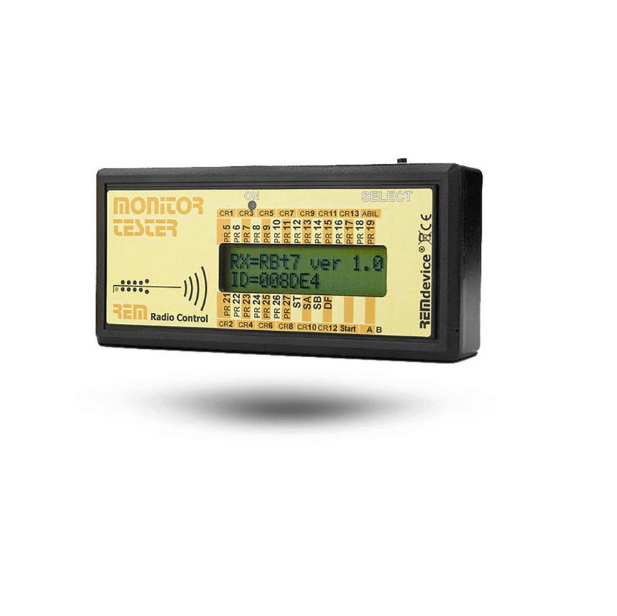 Monitortester für Funkfernsteuerungen