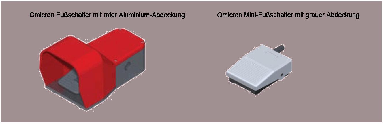 Fußschalter Omicron
