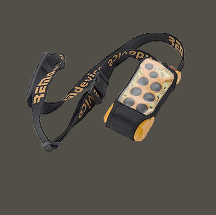 Funkfernsteuerung Schultergurt mit Schutztasche
