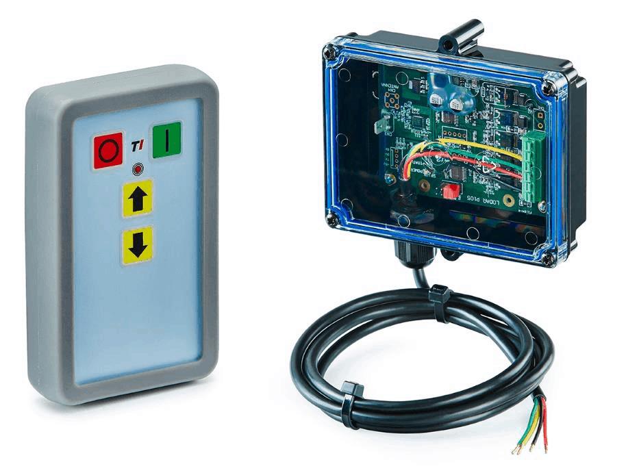Funkfernsteuerung Slimline mit mini Empfänger