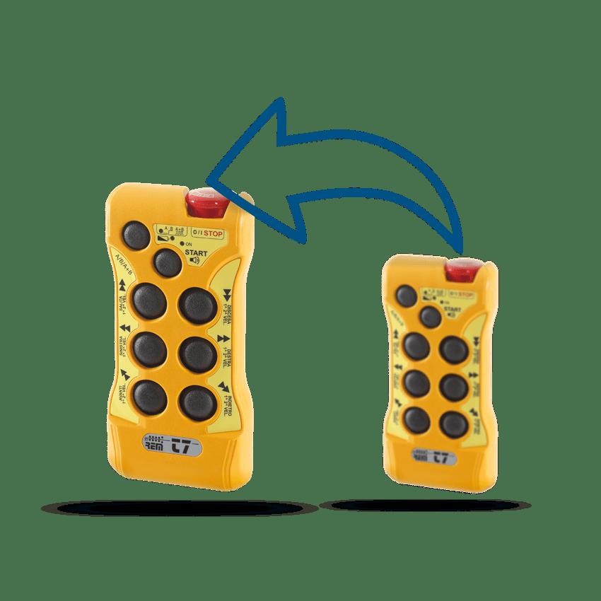 Funkfernsteuerung T7 Remsys Code