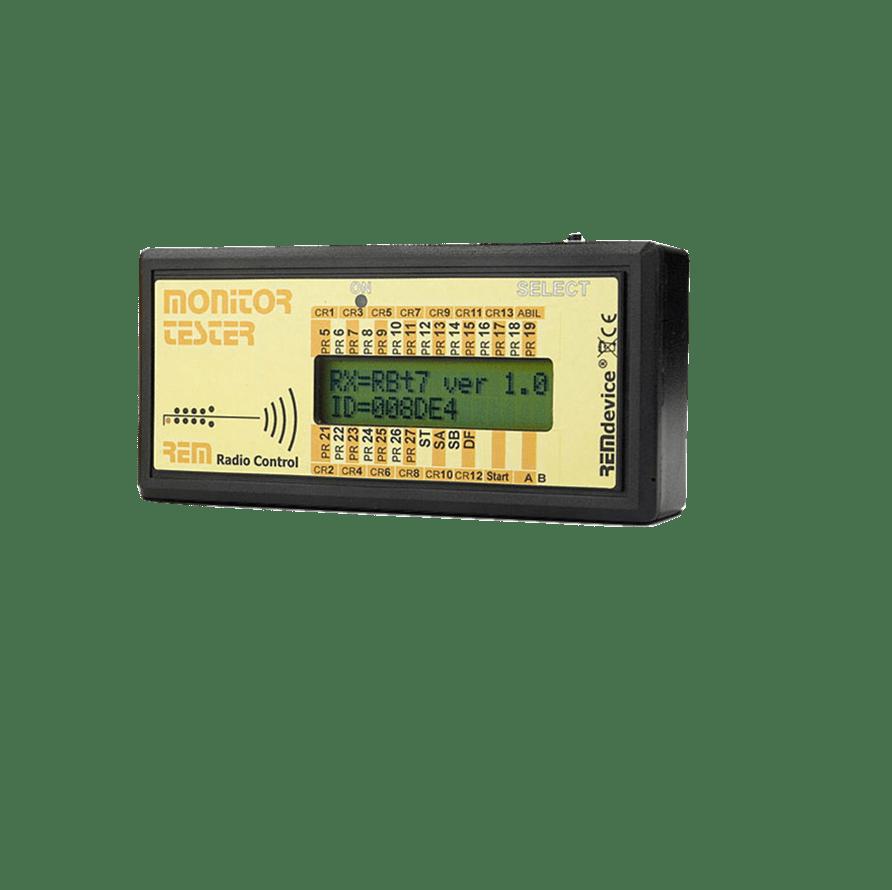 Monitor-Tester Funkfernsteuerung Kran