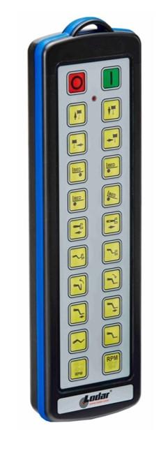 Funkfernsteuerung mit 20 Funktionstasten