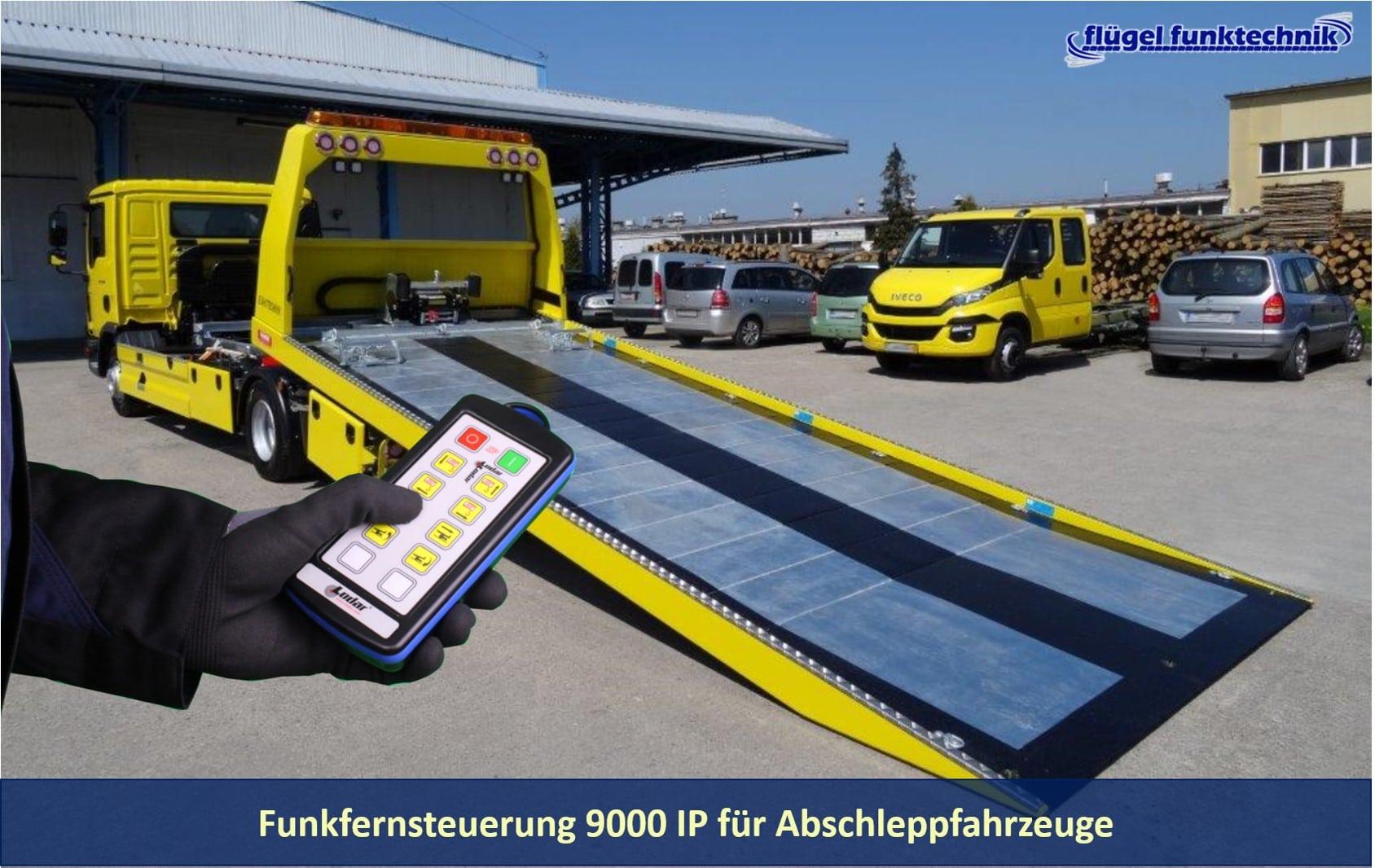 Funkfernsteuerung Abschleppfahrzeuge