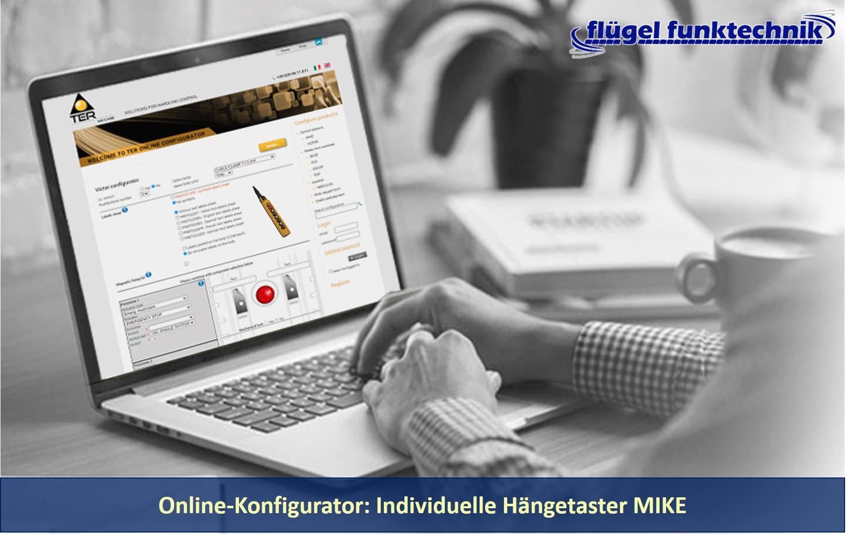 Hängetaster Mike Konfigurator