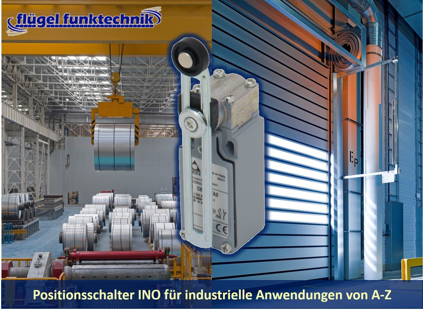 Rollenhebel Ino für eine Vielzahl von industriellen Anwendungen