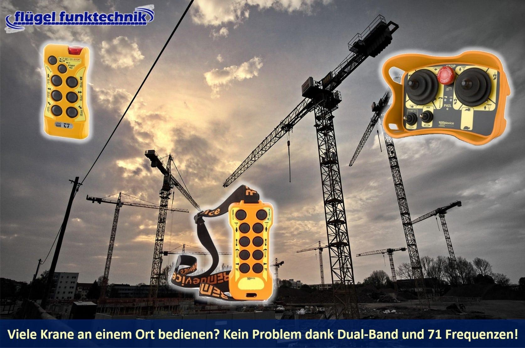 Funkfernsteuerungen Krane - Dual-Band-Funkmodul