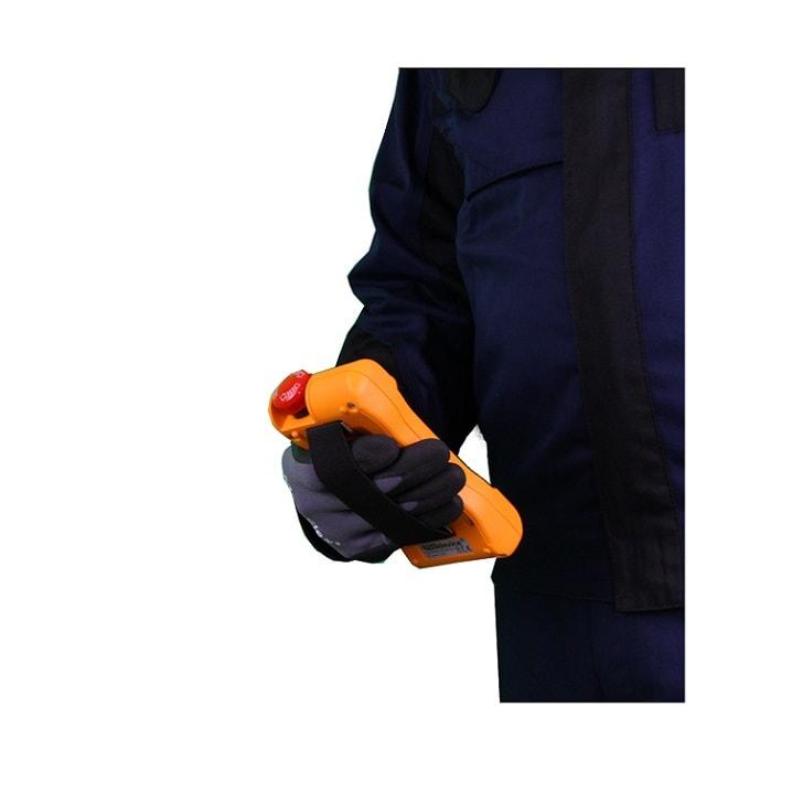Handsender T mit Gummiband
