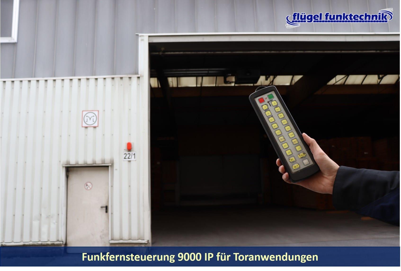 Funkfernsteuerung 9000 IP für Toranwendungen
