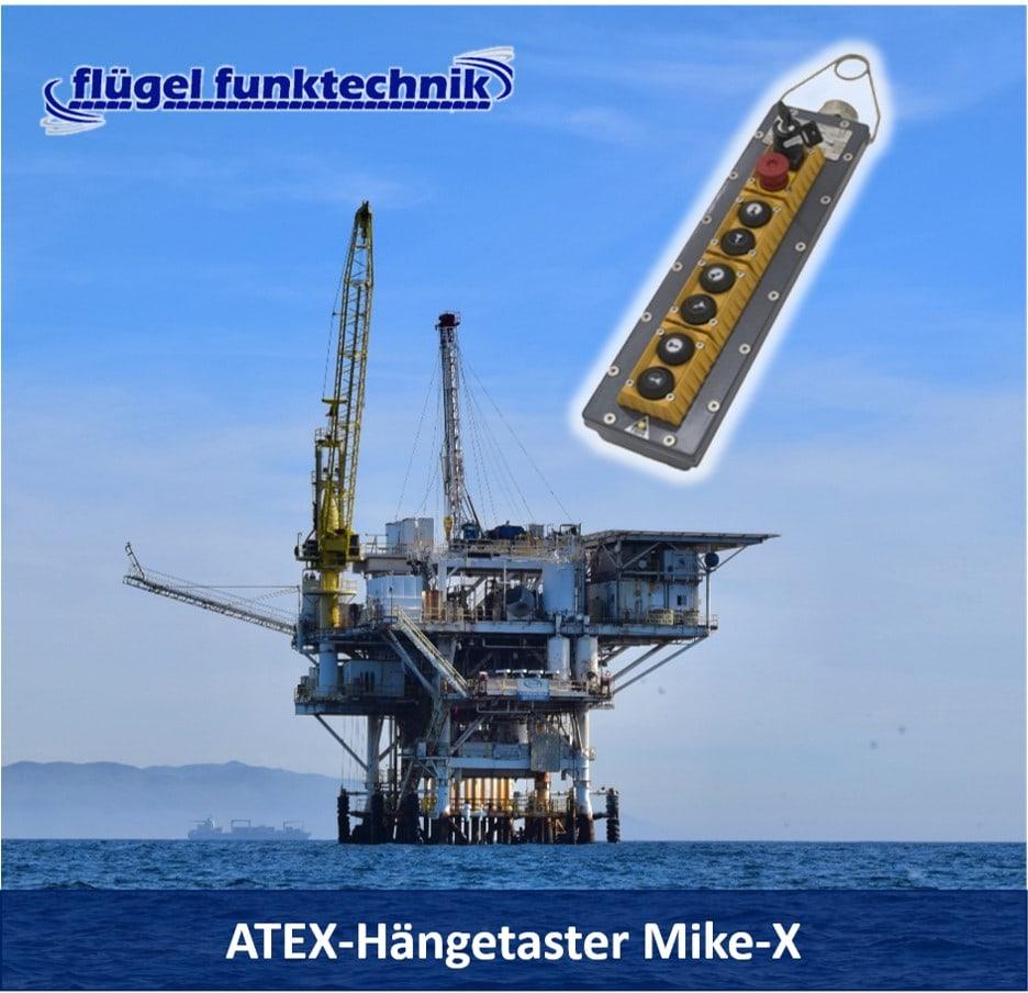 ATEX-Hängetaster Mike-X