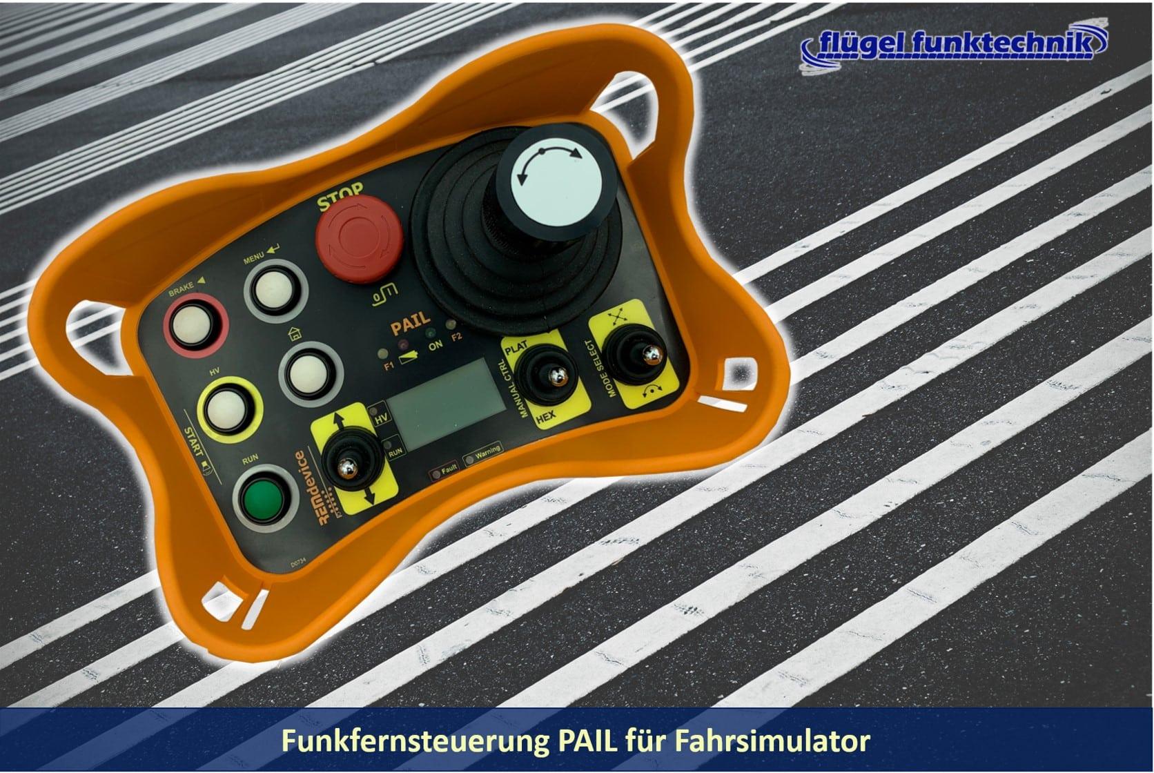 Funkfernsteuerung Serie PAIL für Fahrsimulator