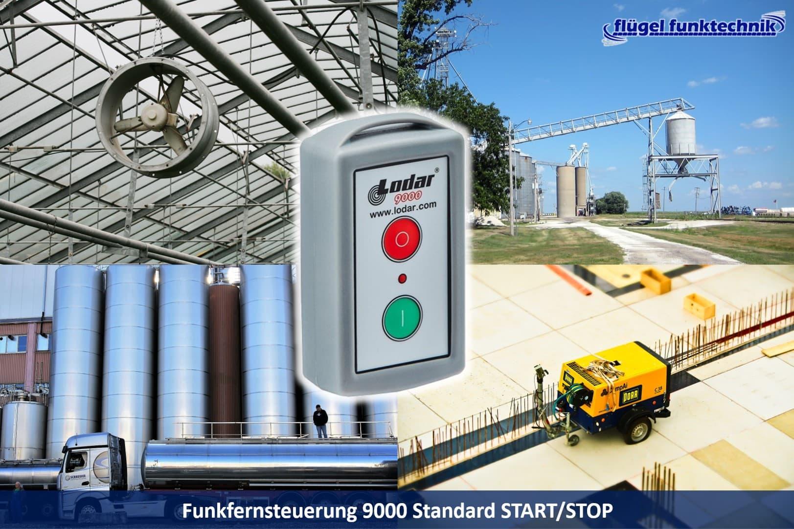 Funkfernsteuerung Start/Stop